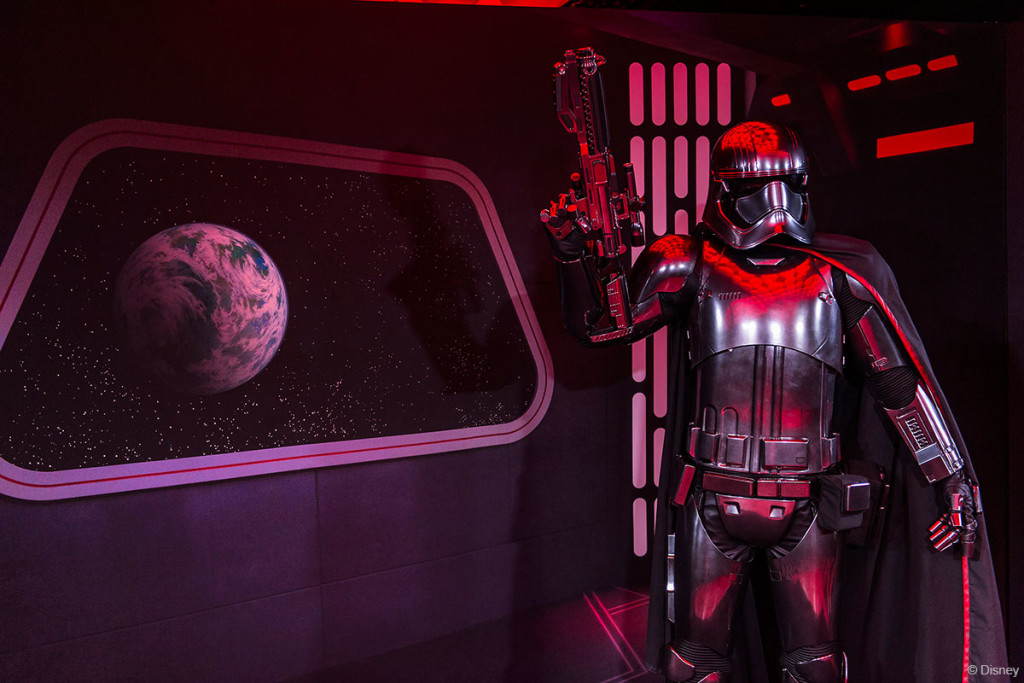 Star Wars Day At Sea Captain Phasma