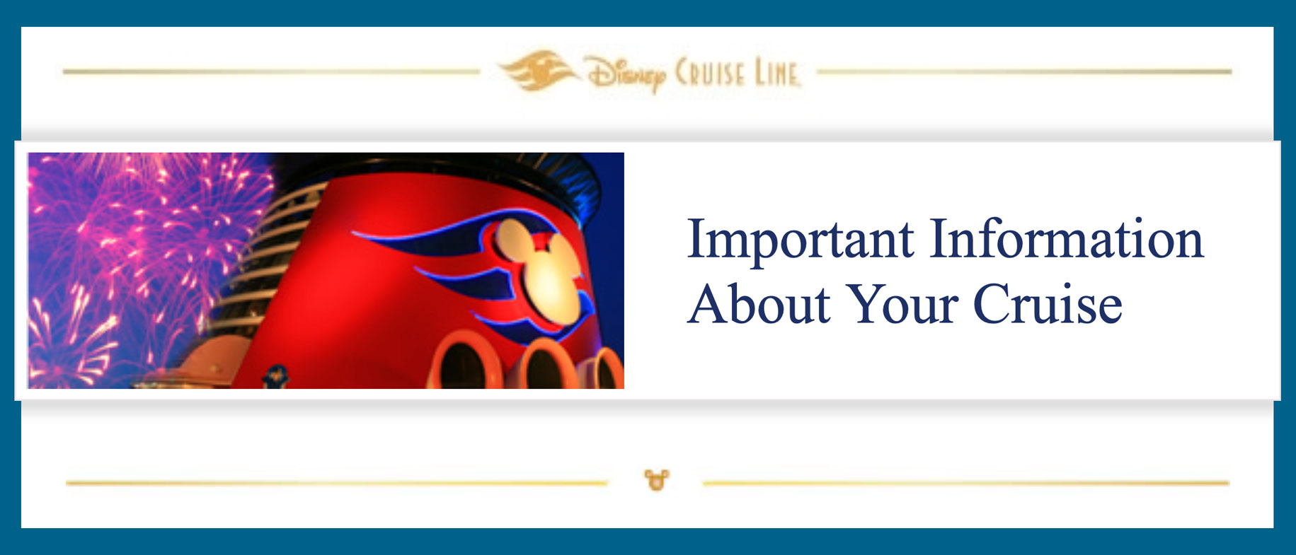 DCL Important Information Letter Header