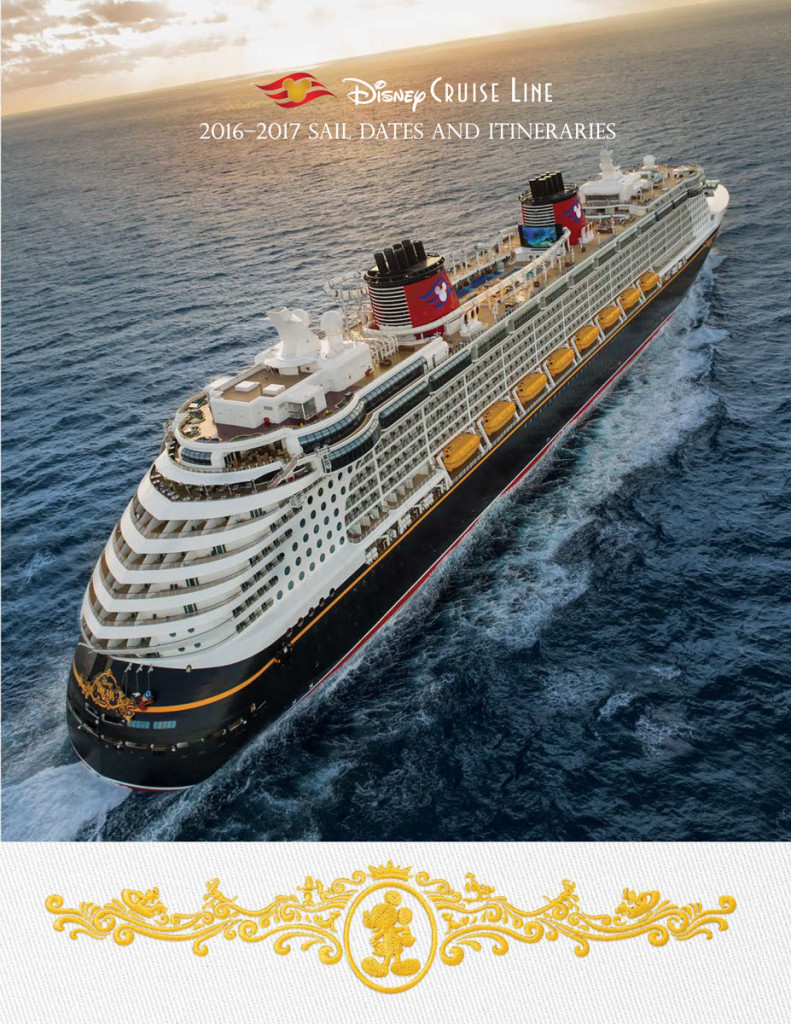 DCL Itinerary Brochure April 2016 2017 Summer Dates Cover