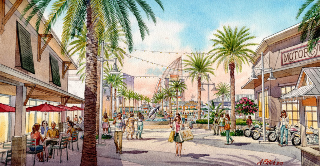 Port Canaveral Cove Rendering