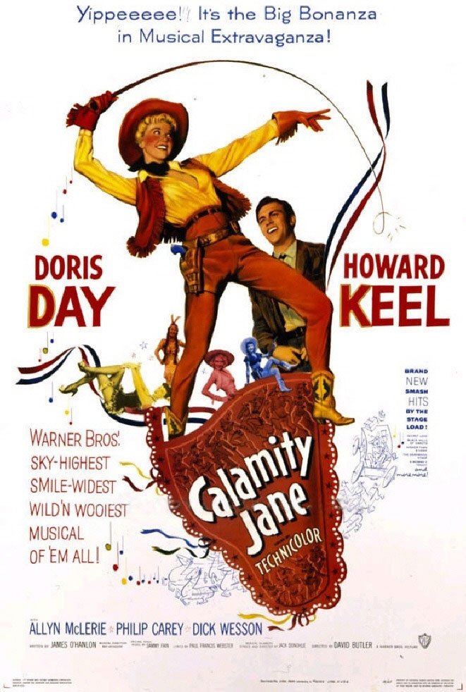 Calamity Jane Movie Poster