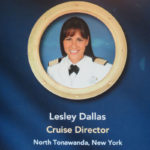 DCL Cruise Director Leslie Dallas