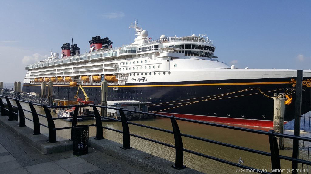 Disney Magic Liverpool England Simon Kyle