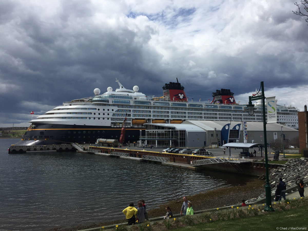 Disney Magic Sydney Nova Scotia 1