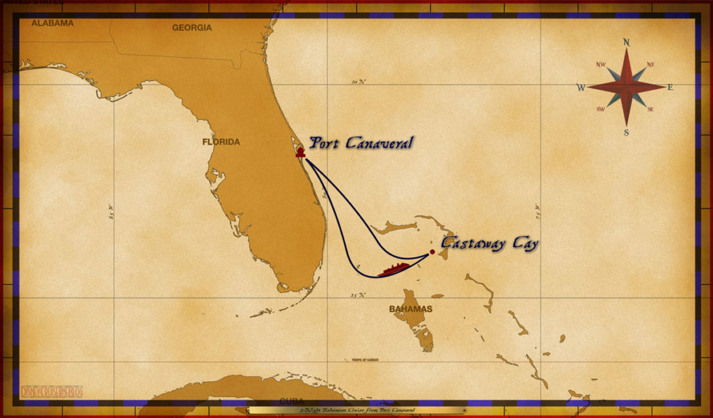 Map Dream 3 Night Bahamian PC CC Sea