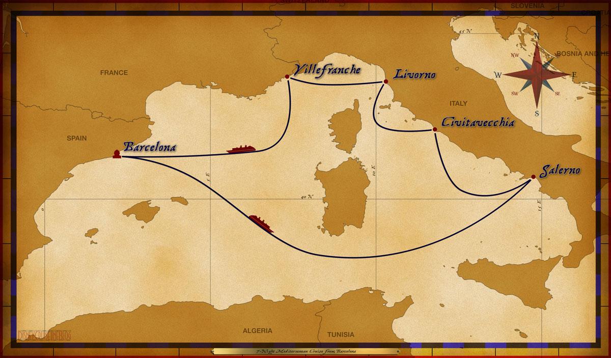 Map Magic 7 Night Mediterranean H