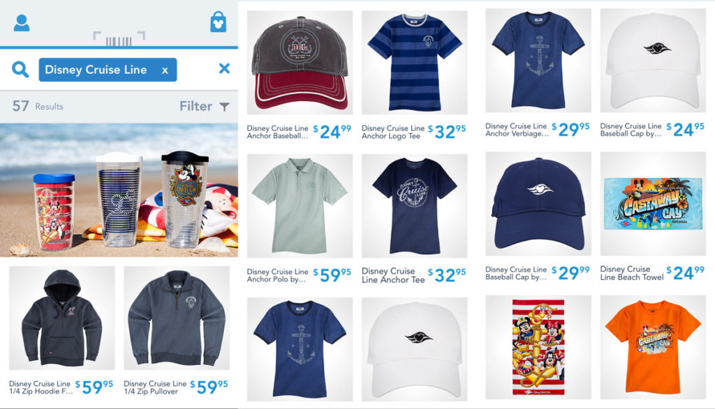 Shop Disney Parks DCL Merch 1