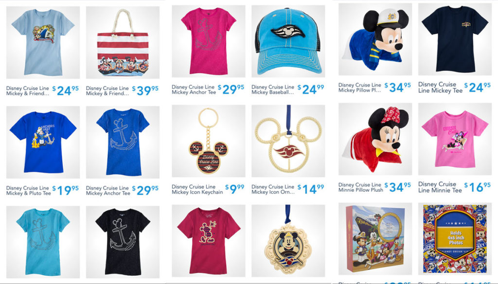 Shop Disney Parks DCL Merch 3