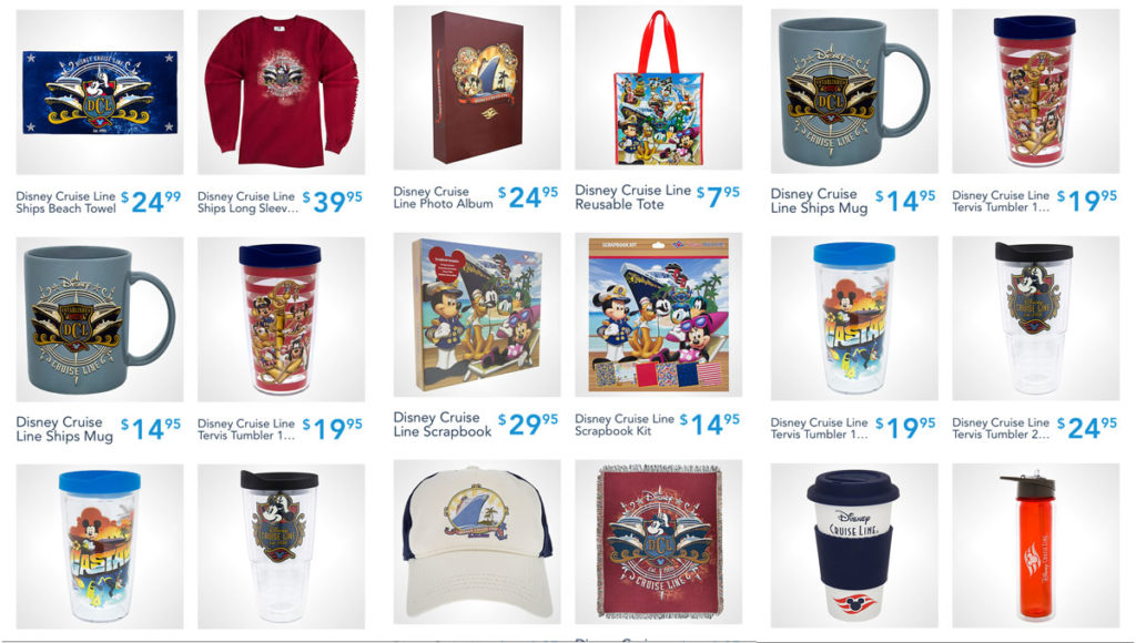 Shop Disney Parks DCL Merch 4