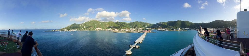 Arriving In Tortola Pano
