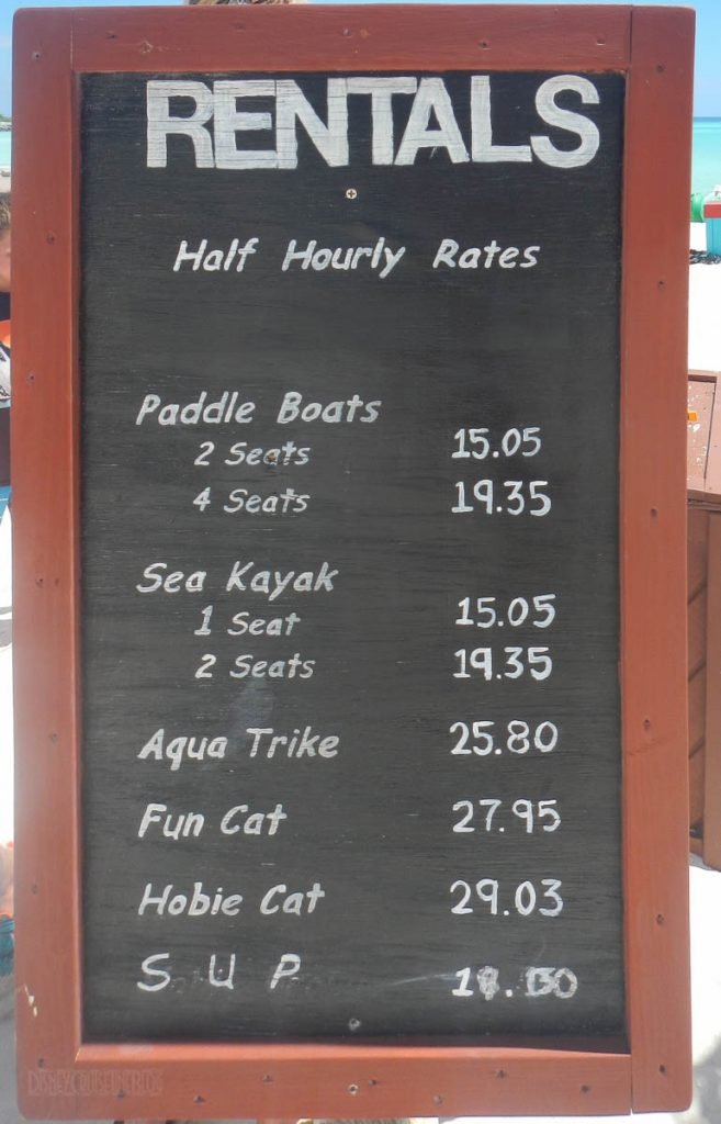 Castaway Cay Boating Harbor Rental Rates