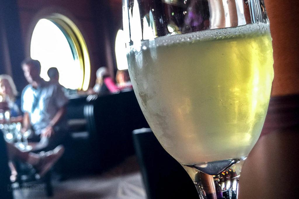 Champagne Tasting Elder Bubble With Taittinger