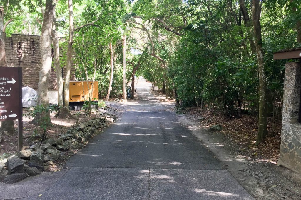 Cinnamon Bay Beach Walkway