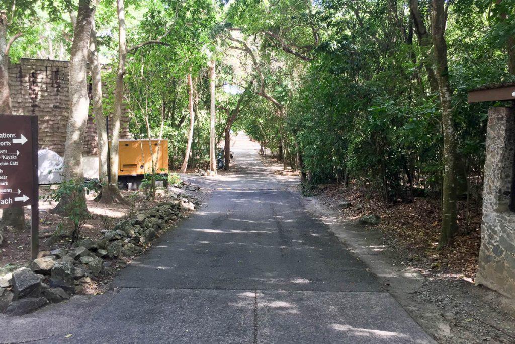 Cinnamon Bay Beach Walkway