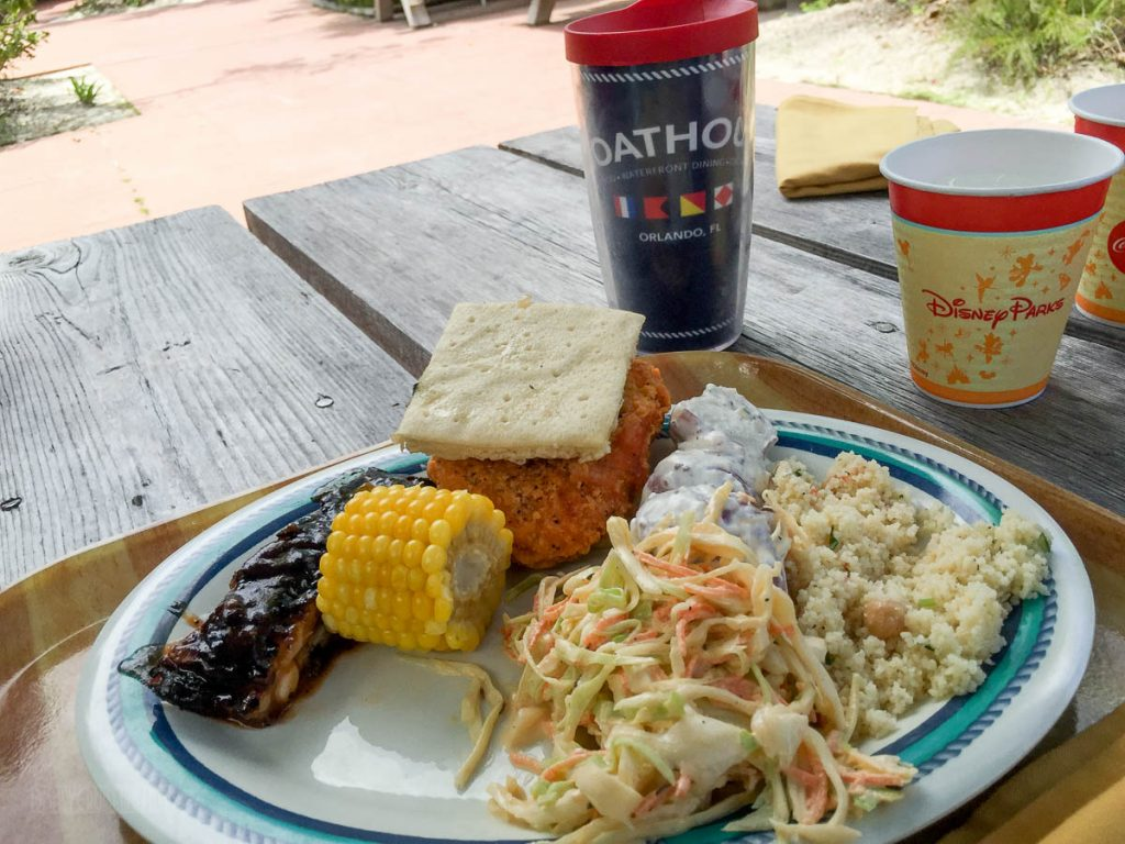 Cookies BBQ Lunch Castaway Cay