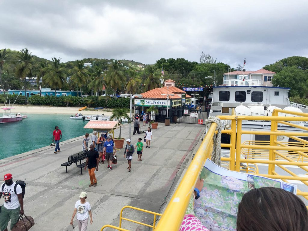 Cruz Bay Ferry