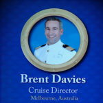 DCL Cruise Director Brend Davies