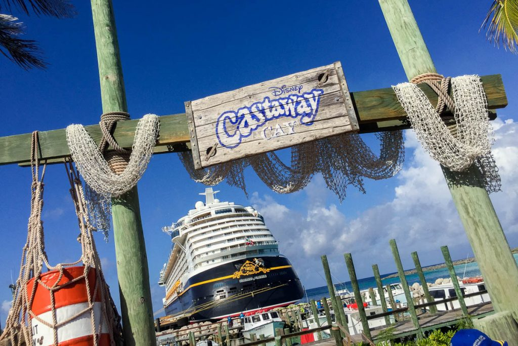 Disney Fantasy Photo Op At Castaway Cay