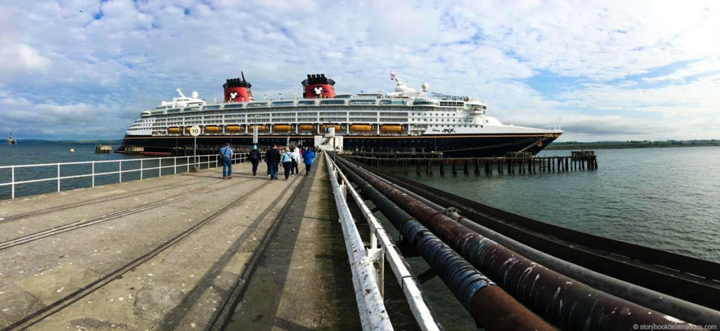 Disney Magic Invergordon Scotland