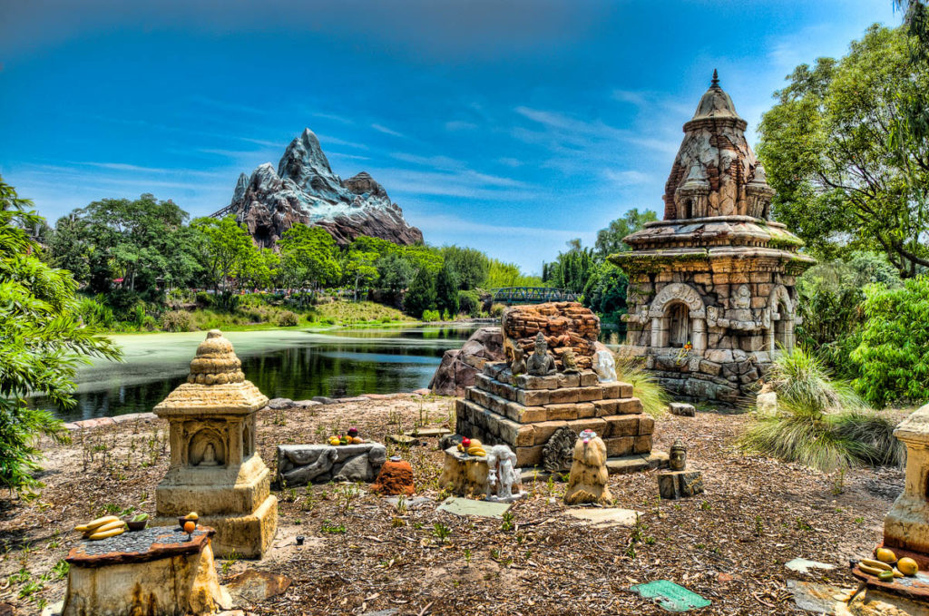 Disney's Animal Kingdom Expidition Everest Yeti Shrine