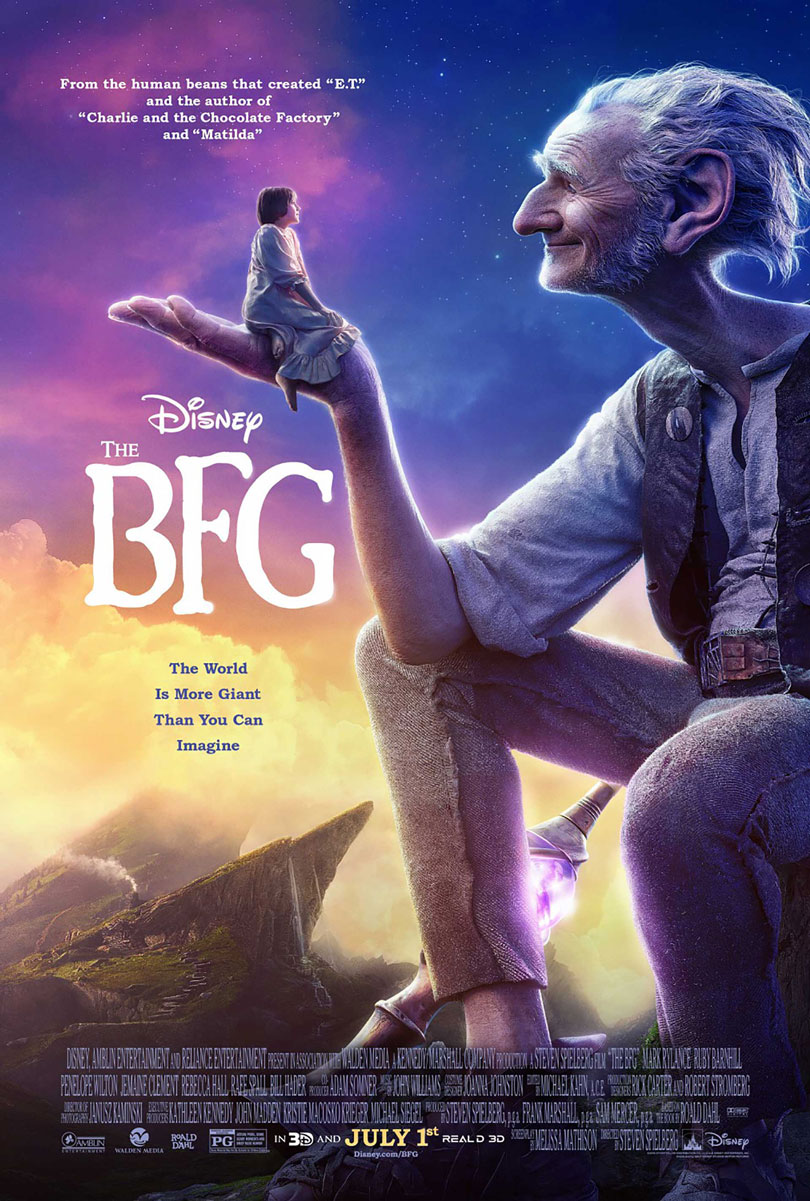 Disney's The BFG Big Friendly Giant Movie Poster