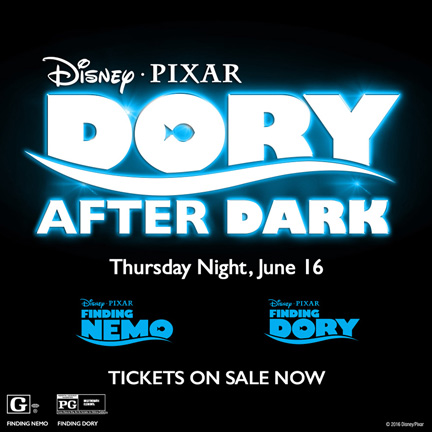 Dory After Dark Finding Dory Double Feature