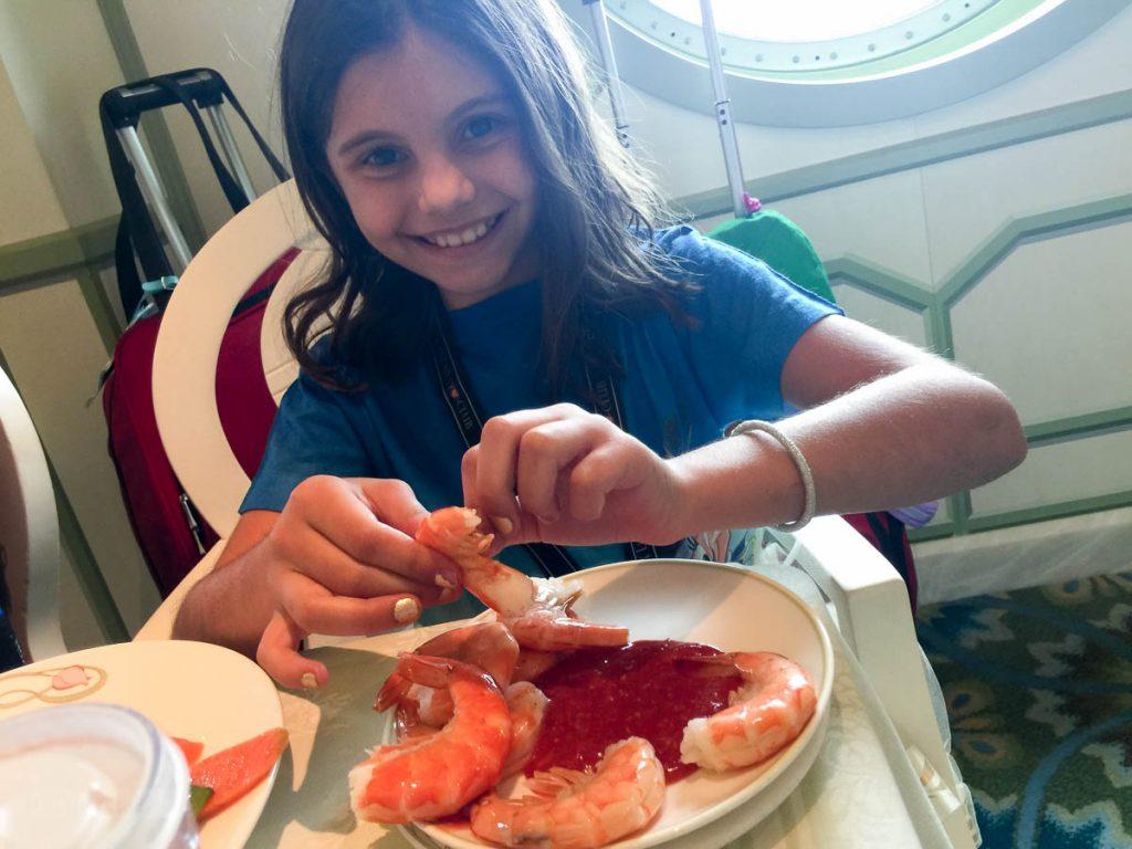 Embarkation Shrimp