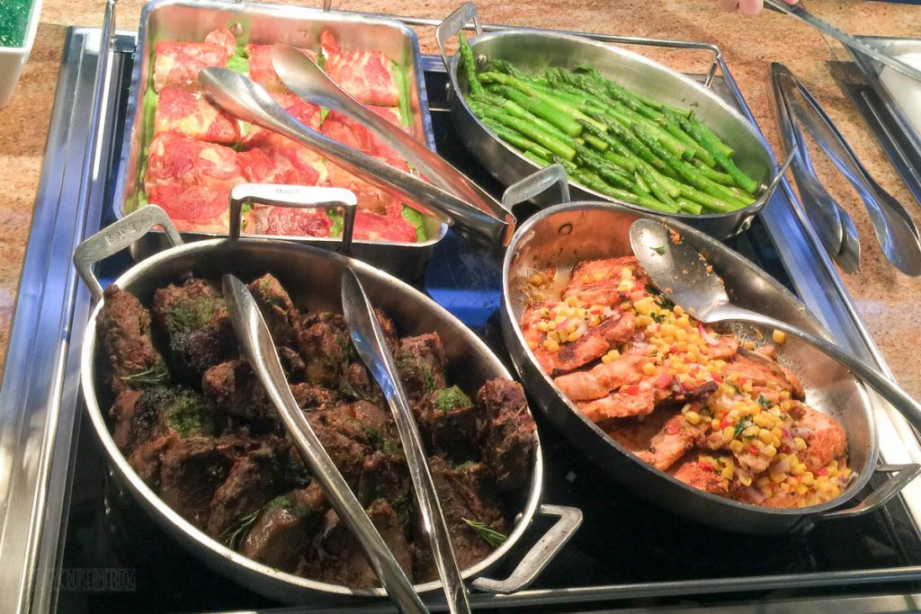 Enchanted Garden Embarkation Lunch Buffet