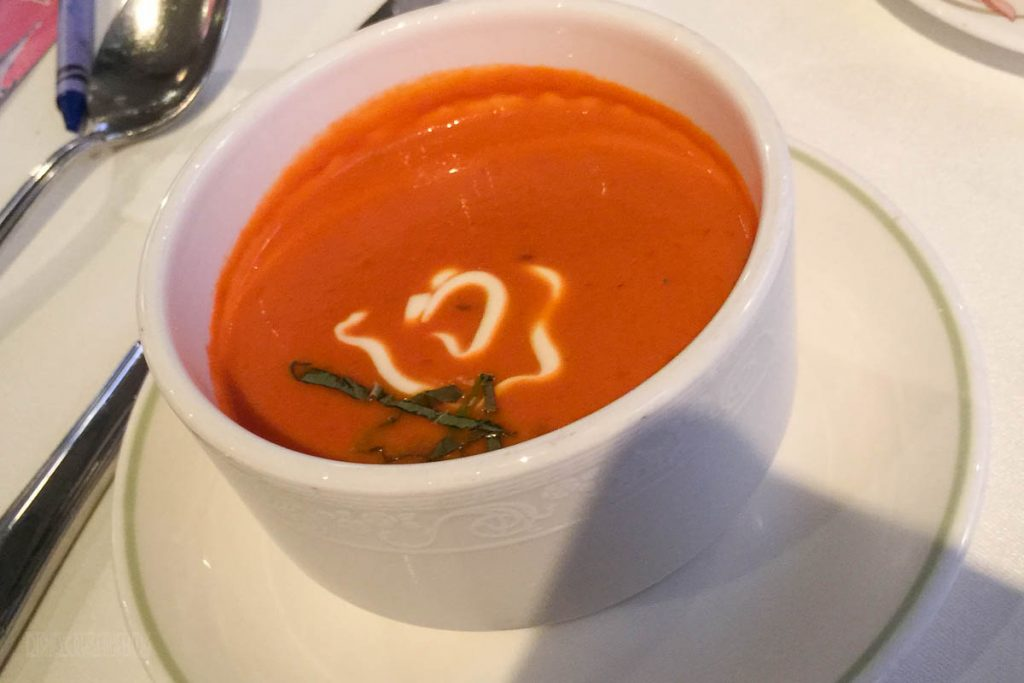Enchanted Garden Heirloom Tomato Soup