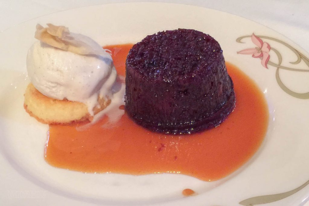 Enchanted Garden Warm Sticky Date Pudding