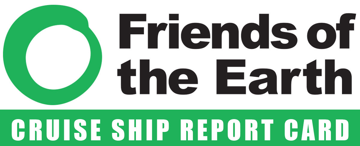 FOE Cruise Ship Report Card