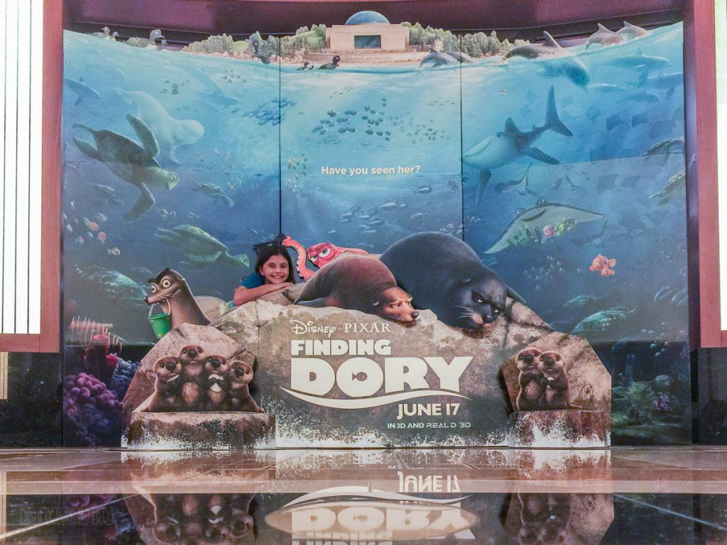 Finding Dory Photo Op