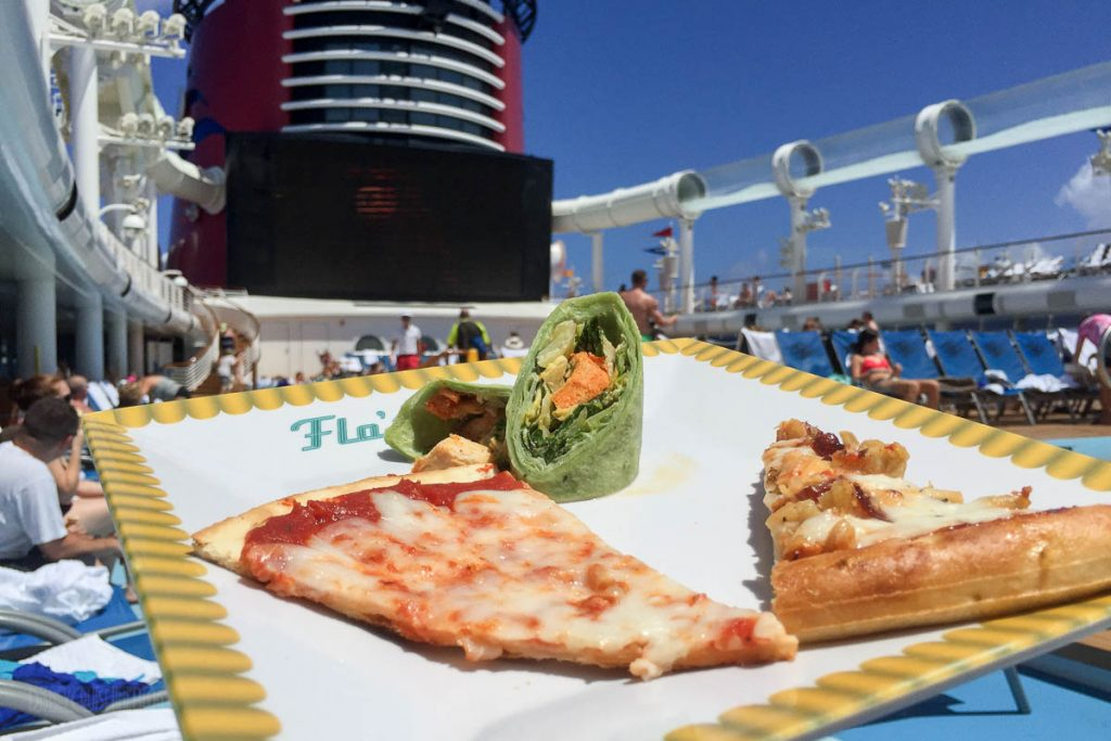 Flo's Lunch Pizza Ceasar Wrap