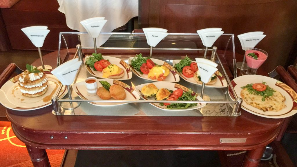Palo Brunch Buffet Made To Order Cart