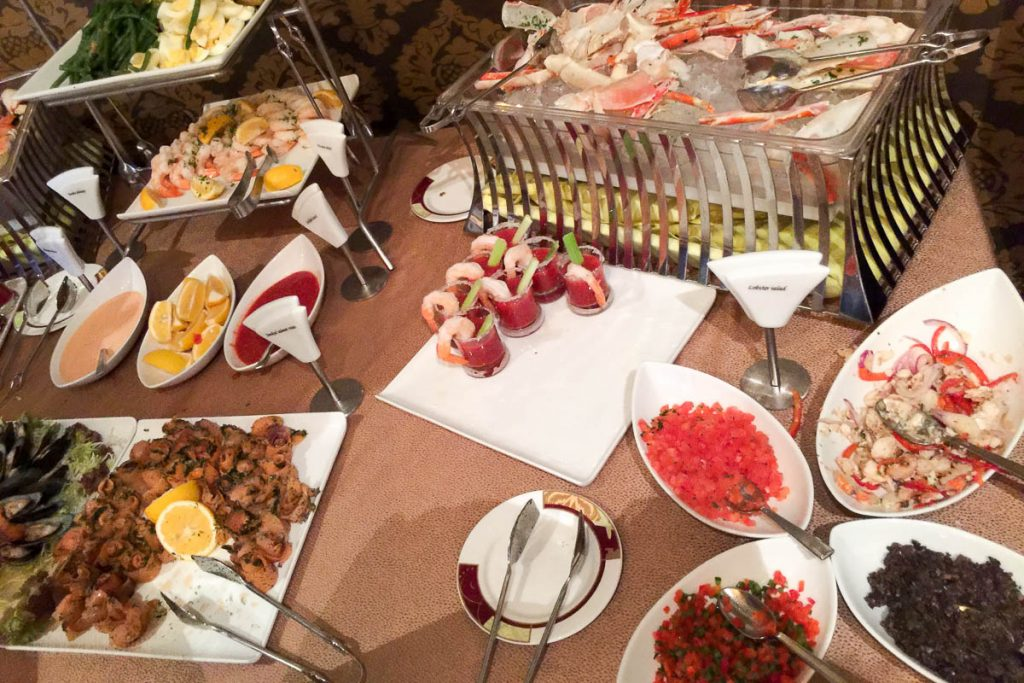 Palo Brunch Buffet Seafood 1