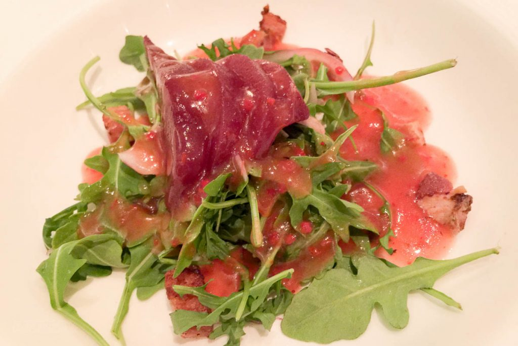 Royal Court Red Wine Bosc Pear Salad
