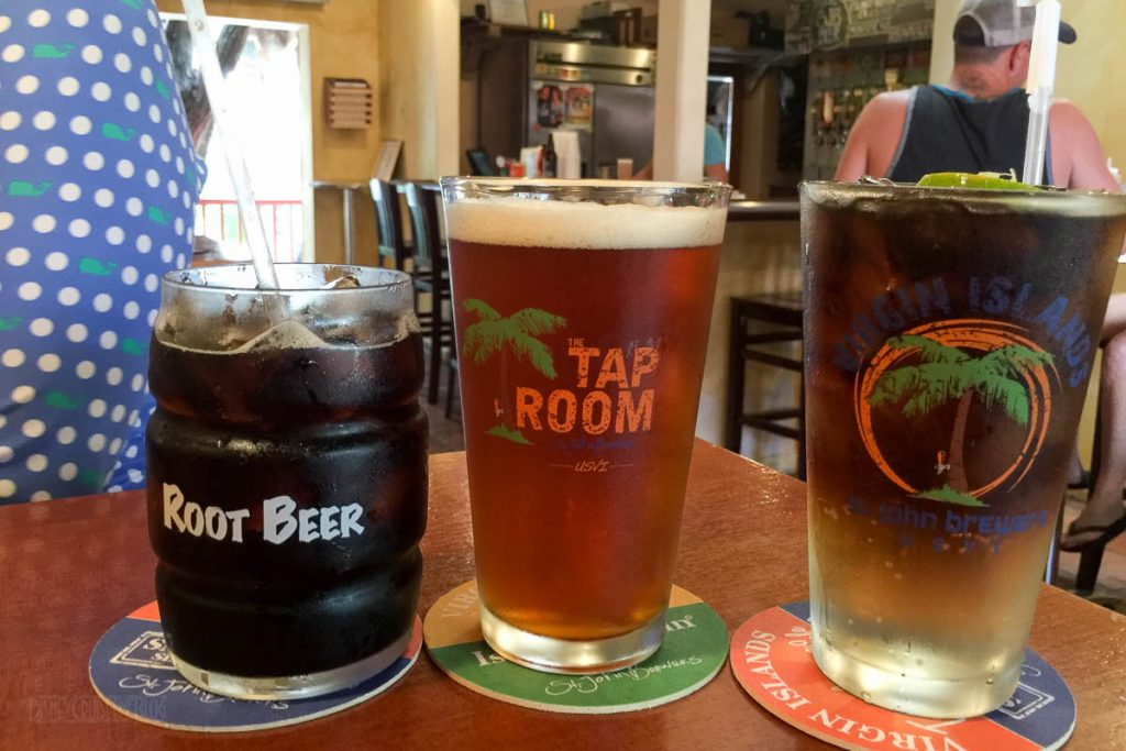 St John Brewery Tap Room Drinks