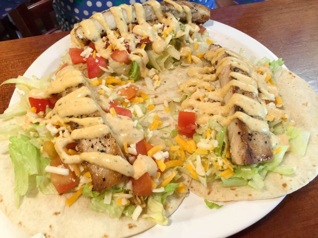 St John Brewery Tap Room Fish Tacos