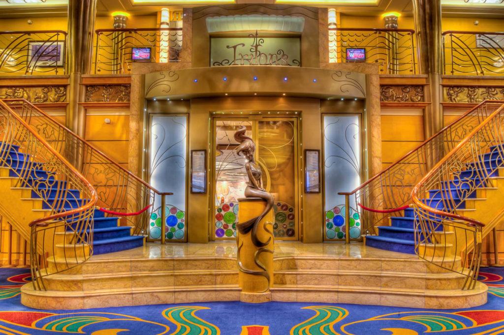 Tritons Disney Wonder Atrium