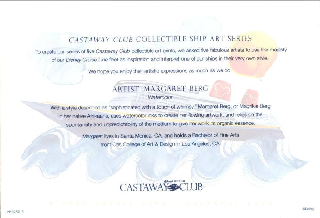 Castaway Club ARTCRD1A Info