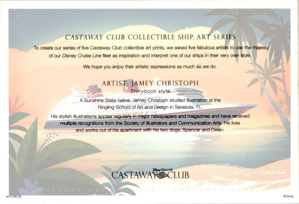 Castaway Club ARTCRD1B Info