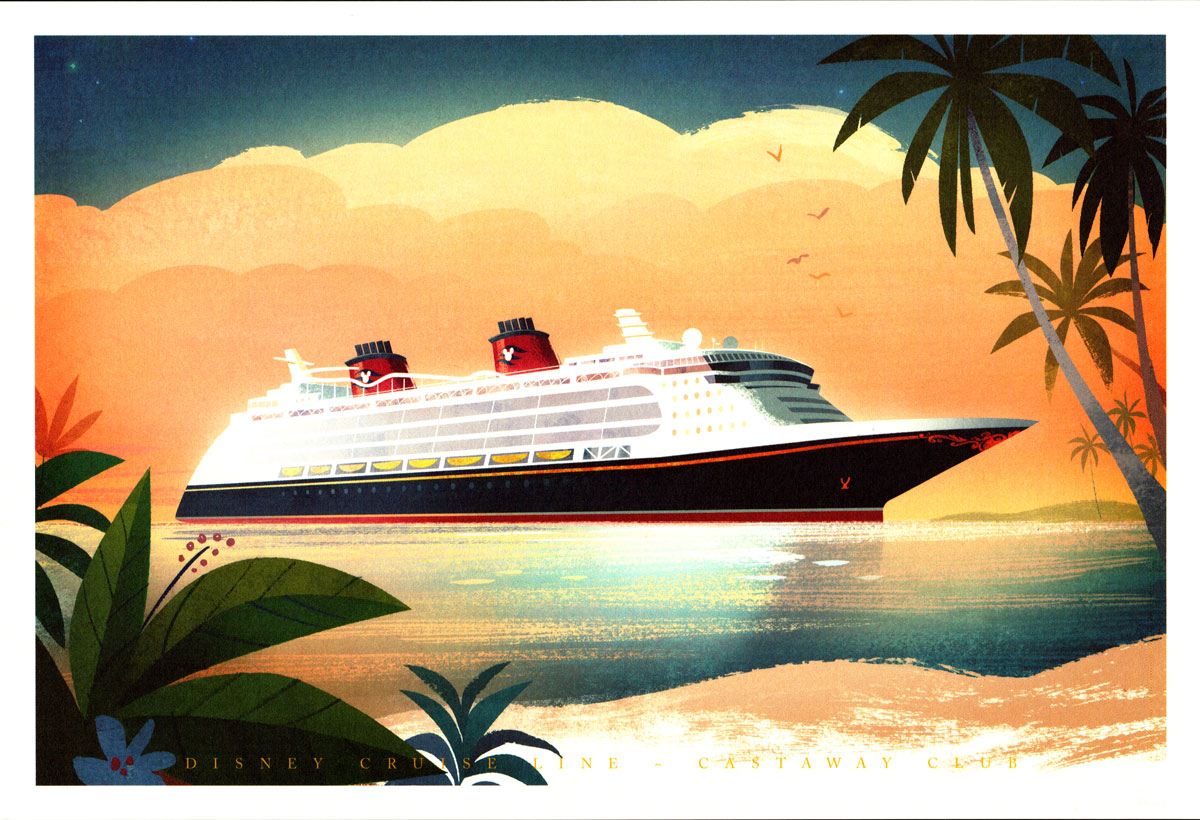 Castaway Club Collectible Ship Art Series Gallery The
