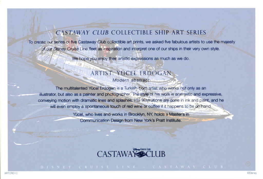 Castaway Club ARTCRD1C Info