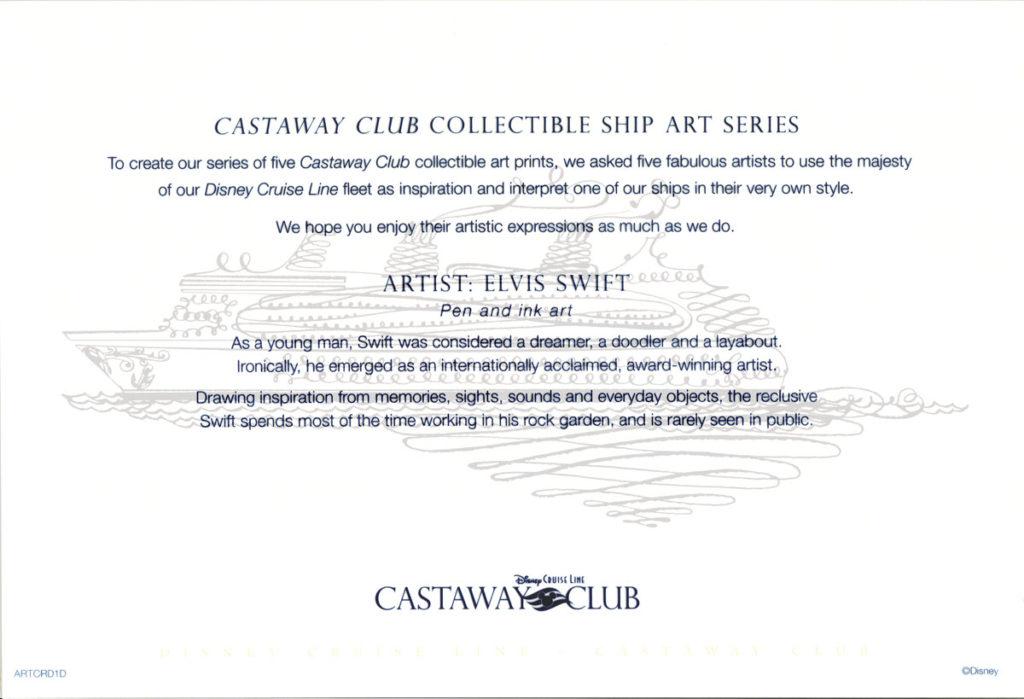 Castaway Club ARTCRD1D Info