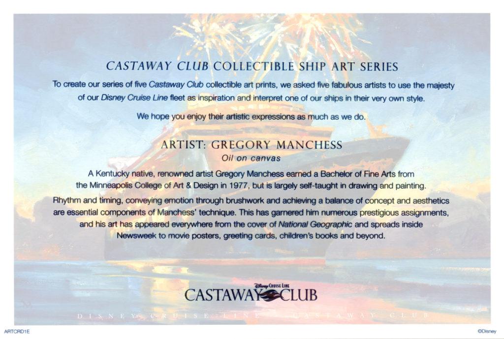 Castaway Club ARTCRD1E Info