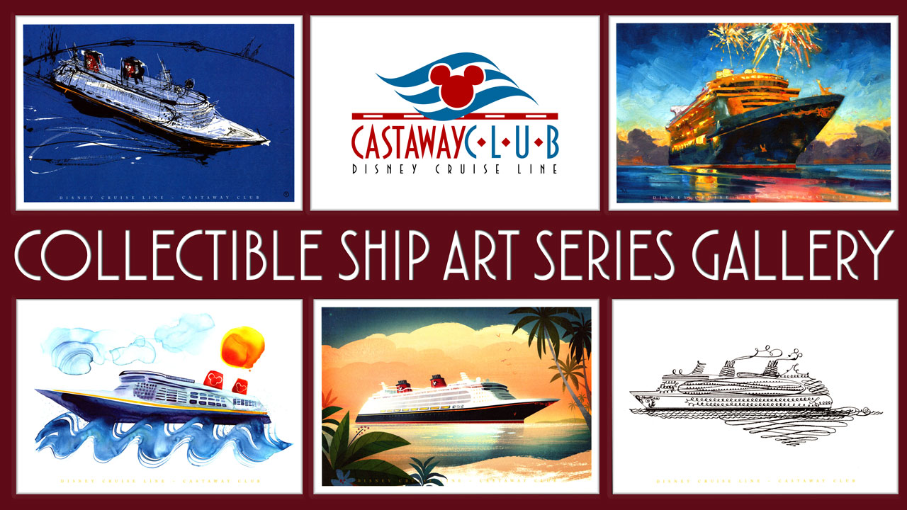 Castaway Club Collectible Ship Art Series