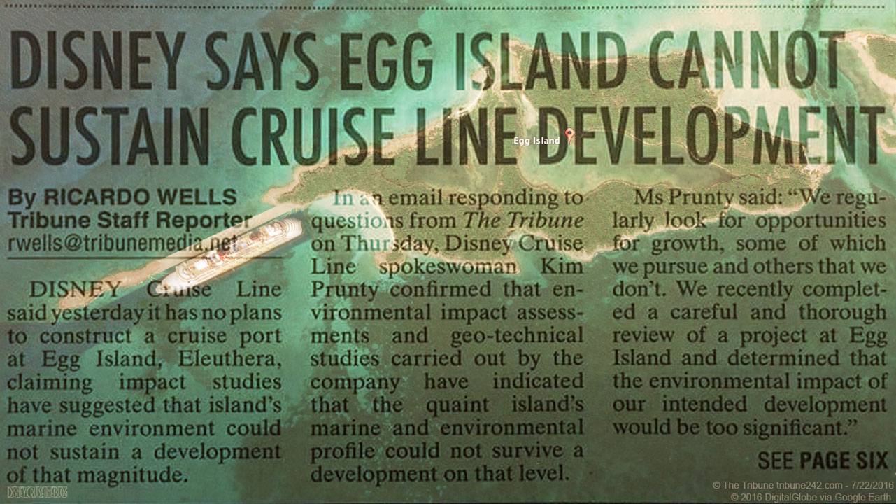 Egg Island Bahamas Pier Mockup Newspaper Unsustainable