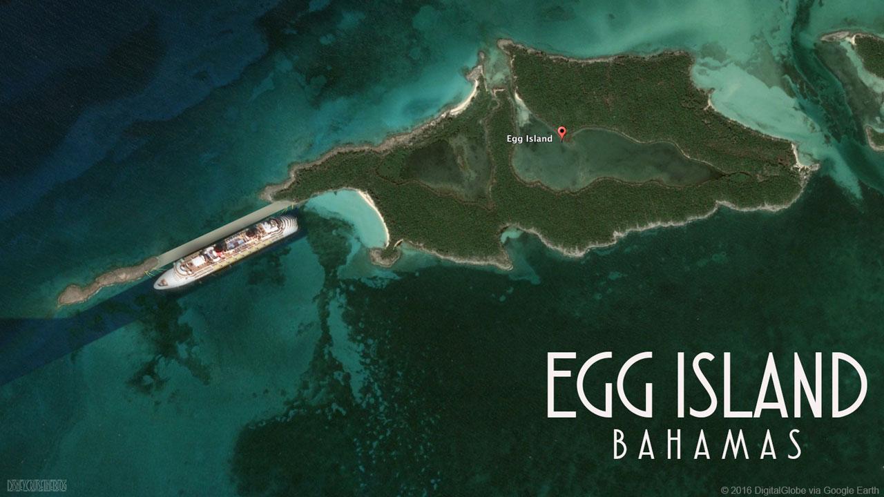 Egg Island Bahamas Pier Mockup