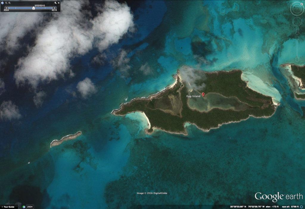 Egg Island Google Earth March 2010