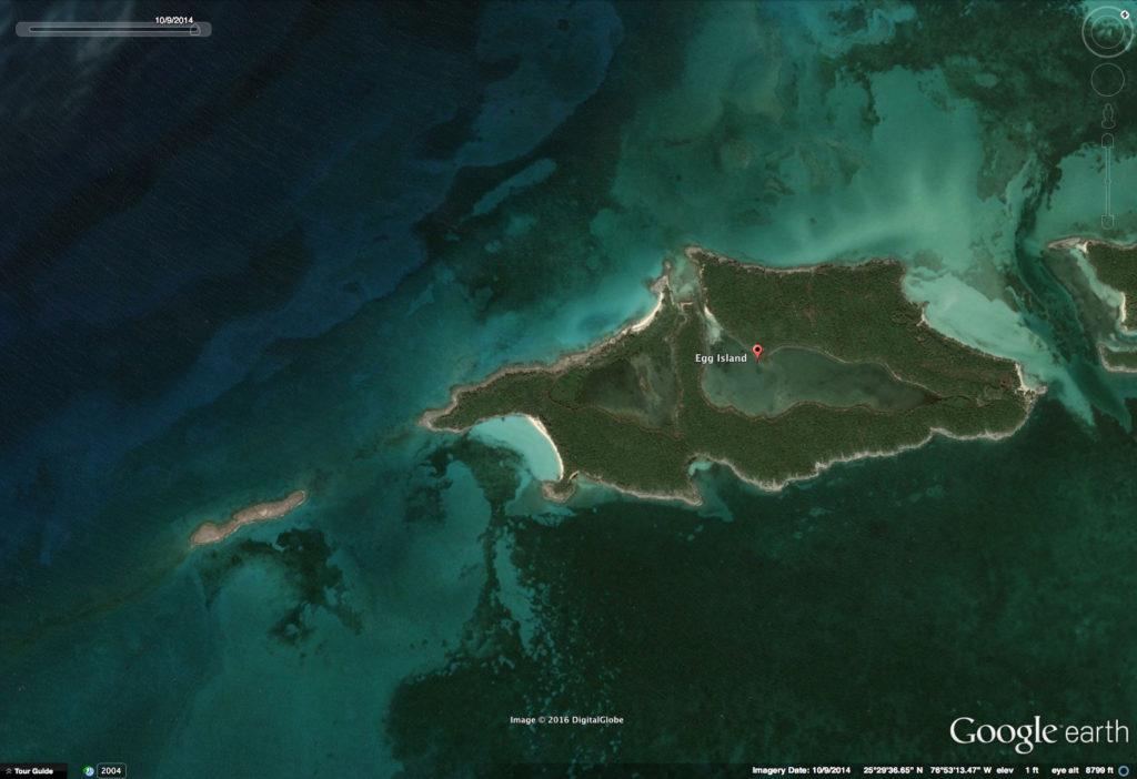 Egg Island Google Earth October 2014